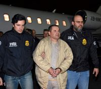 Notorious drug lord Joaquin 'El Chapo' Guzman found guilty on all counts