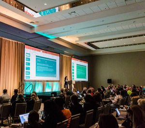 More than 300 attendees came together to explore best practices such as engaging a millennial workforce, training tactics to increase employee safety, and maintaining a culture of compliance. (Photo/Entrust Conference)