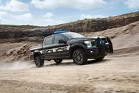Ford reveals first police pursuit pickup truck