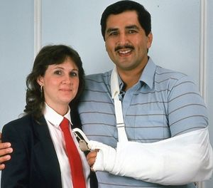 SA (Ret.) Ed Mireles pictured with his wife, Liz, in 1986. (Photo/Ed Mireles)