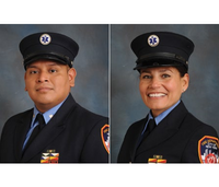 FDNY recognizes paramedics for rescuing elderly patients from submerged car
