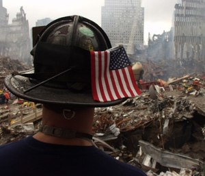 America found an enduring champion in firefighters: sacred in sacrifice, noble in intent, and constant and unrelenting in purpose. (Photo/Wikipedia Commons)