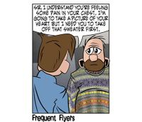 Frequent Flyers: Chest pains