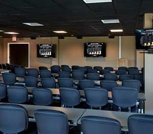 The Force Science Training Center, which occupies 10,000 square feet in a sleek, low-rise building in Des Plaines (Ill.) is a comfortable, protected spot where people can freely share ideas, confront challenges, explore new realms of human performance and, most importantly, to learn. (PoliceOne Image)