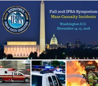 Free registration for police, fire, EMS personnel to attend IPSA MCI symposium