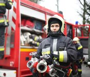 Female firefighters: Delivering strength under fire