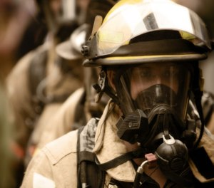 Correctly using and maintaining SCBA and PPE limits the risk of exposures. (image/ Trace Analytics)