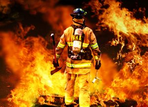 It's not just the elements or toxins within a fire or hazmat incident that can compromise the health and safety of firefighters. (image/Trace Analytics)