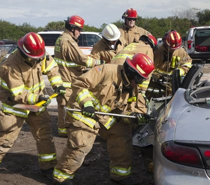 How to get involved with a volunteer fire department