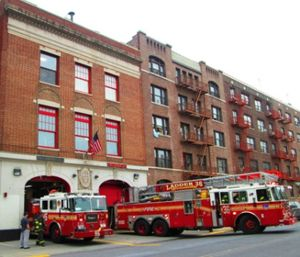 Firefighters think of the fire house as an inner sanctum, housing a unique camaraderie – a brother and sisterhood – and sometimes forget it's a workplace. (Photo/Wikimedia Common)