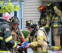 Firefighters save American flag at Ill. house fire