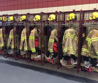 How one chief found a new way to dry and store PPE at firehouses