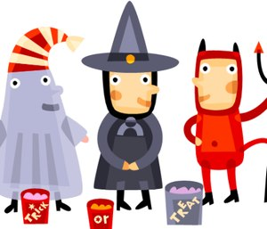 A widely-circulated infographicstates twice as many kids are killed while walking on Halloween than any other day. But is it true? (Photo/sdotblog.seattle.gov)