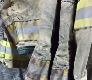 Soiled gear may include hazardous contaminants that warrants test. (Photo/International Personnel Protection, Inc.)