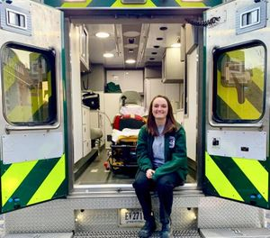 Creature comforts, like well-kept ambulances, outfitted with safe, comfortable seating, and updated equipment, go a long way in EMS retention. (Courtesy https://www.facebook.com/HarrisonburgRescue/)