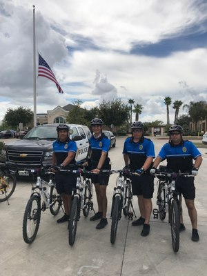 Following a strategic plan helped the Alton Police Department implement a bike patrol program within four months of an anticipated one-year goal. (Photo/Chief Flores)