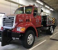 Mich. city turns dump truck into emergency vehicle