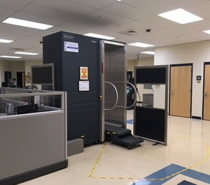 As an additional layer to the screening process, body scanners can offer facilities another method to find metallic objects as well as contraband that metal detectors are unable to detect, such as narcotics and non-metallic objects. (image/Somerset County Jail)