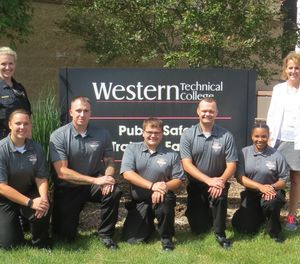 Pictured are the five recruits of the Public Safety Training Center of Western College's 2018 Summer Academy. (Photo/Dan Marcou)
