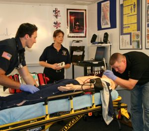 EMS no longer merely brings patients to healthcare. EMSishealthcare. (Photo/Central Ohio EMS)
