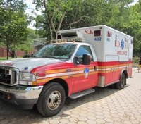 Teen suffers head trauma after being hit by FDNY ambulance
