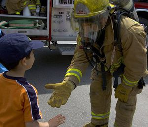 When considering what is expected of professional athletes, there are many similarities with professional firefighters. (Photo/In Public Safety)