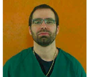 Greg Reinke who is serving life in prison for aggravated murder has been sentenced to 86 years more for a guard's stabbing last year and a 2017 stabbing that wounded four prisoners who were handcuffed to a table and unable to defend themselves (Ohio Department of Rehabilitation and Correction via AP, File)
