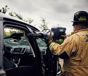 Jaws of Life have the ability to remove a car roof in about two minutes (Photo/Hurst Jaws of Life)