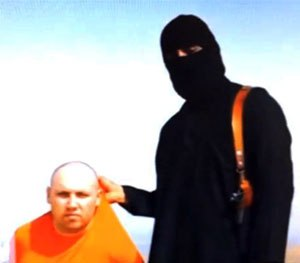"Mohammed Emwazi (a.k.a. ""Jihadi John"") — a Kuwaiti-British man who has made some heinous home movies — is basically the ISIS poster child. (AP Photo)"