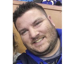 Paramedic Jonathan Noce from a May 18 photo posted to Facebook