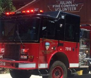 Voters in the Julian-Cuyamaca Fire Protection District will have final say on whether or not the last volunteer fire agency in the county will remain independent. (Photo/JCFPD)