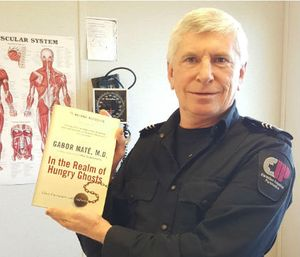 """""""In the Realm of Hungry Ghosts"""" has shaped and informed paramedic Brent Kelland's believes about addiction"""