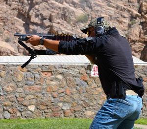 Run your agency qual course for all weapon systems (pistol, patrol rifle and, yes, shotgun) and for your off-duty carry.(Photo/Lawrence Lujan)