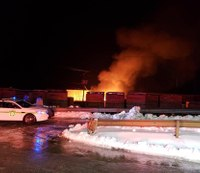 Multiple Pa. firefighters hurt while battling warehouse blaze