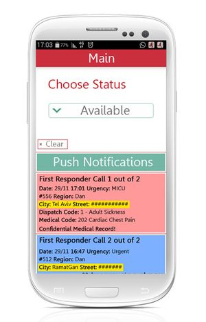 MDA's smartphone app locates and activates Life Guardians, trained personnel, to provide CPR in close by events.