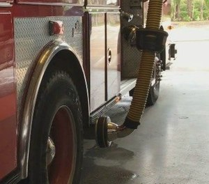 The World Health Organization first designated diesel exhaust emissions as a carcinogen in 1998. (Photo/Evansville Fire Department)