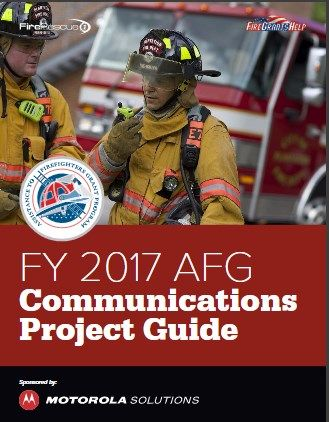 FY 2017 AFG Communications Project Guide