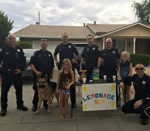Being able to find (or even create) something positive can help offset all of the negative, like grabbing a refreshing drink of fresh lemonade at this stand. (Image Courtesy of PoliceOne Contributor Ken Hardesty)