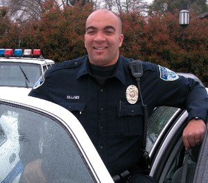 Officer Malcus Williams went into medical distress as soon as he arrived at a call, according to police. (Photo/Ashland PD)