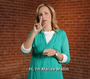 Marlee Matlin — who is deaf and the wife of a police officer — teamed up with ACLU and HEARD (Helping Educate to Advance the Rights of the Deaf) to produce an American Sign Language video to ensure deaf people know their rights when interacting with law enforcement. (PoliceOne Image)
