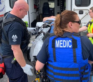 EMT, flight medic and paramedic requirements vary depending on the level of certification and responsibility (Photo/courtesy St. Charles County Ambulance District)