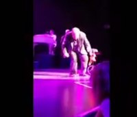 Watch: Meat Loaf collapses mid-concert