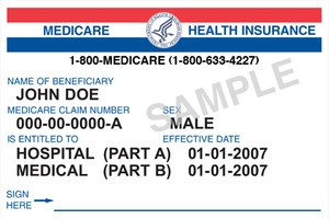 Beginning in April 2018, Medicare patients will begin presenting with new cards in hand. (Courtesy photo)