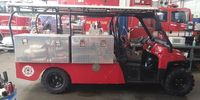Do EMS agencies and fire departments need special vehicles for mass gatherings?