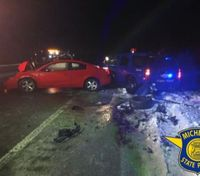 Mich.trooper hit by car while helping motorist