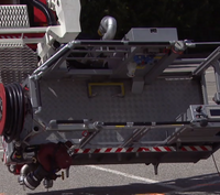 Firefighter dies from electrocution in aerial device surrounded by children