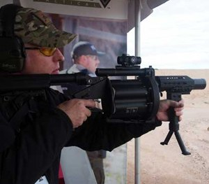 SHOT Show 2016: Milkor's less-lethal launcher offers superior accuracy, many munitions options