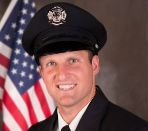 Appleton, Wis., Firefighter Mitch Lundgaard. (Photo/Appleton Fire Department)