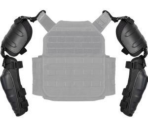The ExoTech Arm Protection Kit allows any PROTECH vest or plate rack to be adapted to offer blunt force trauma protection for the arms. (Photo/Safariland)