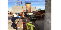 Case study: Rescuing a pinned, suspended industrial worker